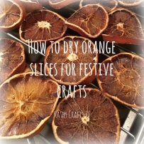How to dry orange slices for festive crafts