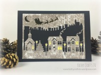 First Edition Craft a Card Christmas Dies - Houses