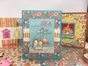 By the Sea decoupage